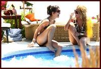 Josie Loren in a bikini