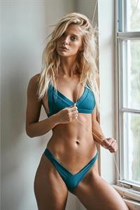 Marie Tomas in a bikini