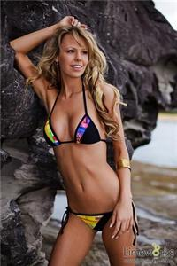Evy-Anna Le Feuvre in a bikini