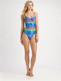 Jayne Moore in a bikini