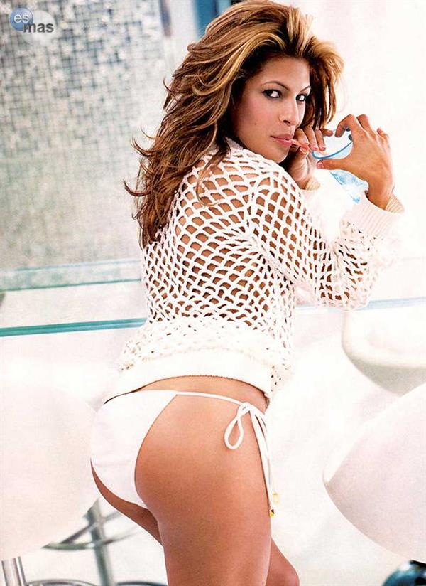 Eva Mendes in a bikini - ass