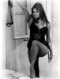 Sophia Loren in lingerie