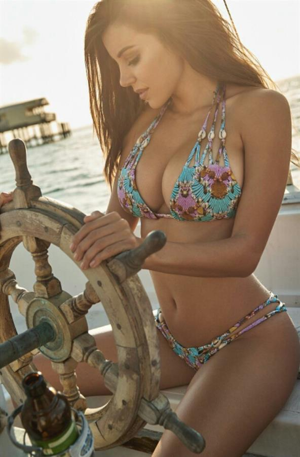 Shelby Chesnes in a bikini