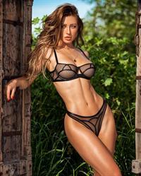 Stefanie Knight in lingerie
