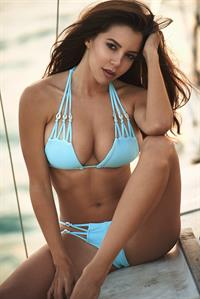 Shelby Chesnes in a bikini