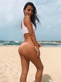 Fiona Barron in a bikini - ass