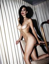 Emily Ratajkowski nude for a Polaroid photoshoot with Jonathan Leder