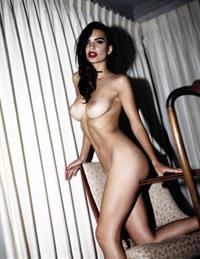 Emily Ratajkowski nude for a Polaroid photoshoot with Jonathan Leder