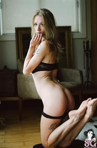 Natasha Legeyda in lingerie - ass