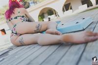Natasha Legeyda in a bikini - ass