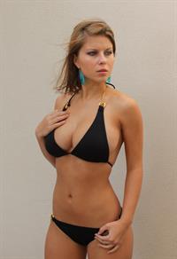 Abby Porter in a bikini