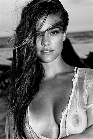 Nina Agdal nude for Antoine Verglas's Photoshoot