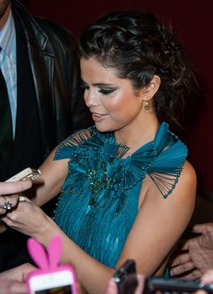 Selena Gomez 'Spring Breakers' premiere in Paris 2/18/13
