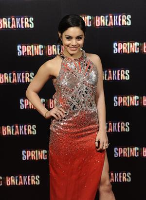 Vanessa Hudgens Spring Breakers premiere in Madrid 2/21/13