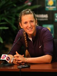 Victoria Azarenka  2013 BNP Paribas Open Press Conference in Indian Wells  14, 2013
