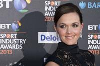 Victoria Pendleton BT Sport Industry Awards in London, May 2, 2013