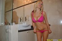 Haley Cummings in lingerie