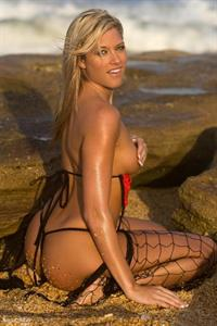 Kelly Kelly in lingerie - ass