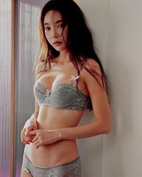 Park Soo Yeon in lingerie
