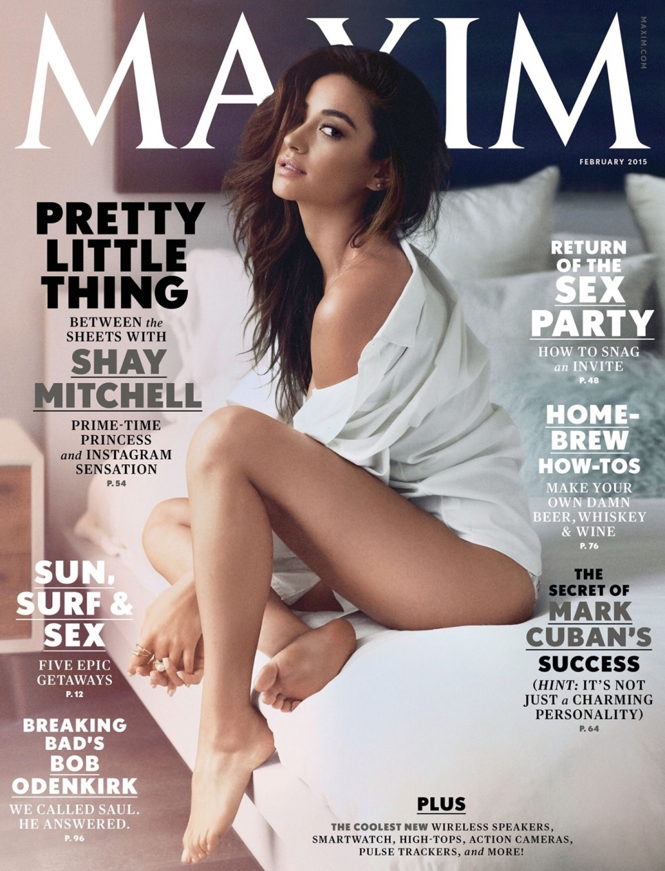 Shay Mitchell Maxim cover