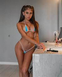Violet Summers in a bikini