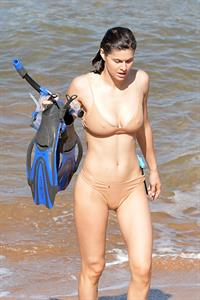 Hot Alexandra Daddario in a bikini - Maui Hawaii, 11/26/2020