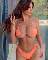 Grace Boor in a bikini