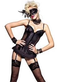 Ginta Lapina in lingerie