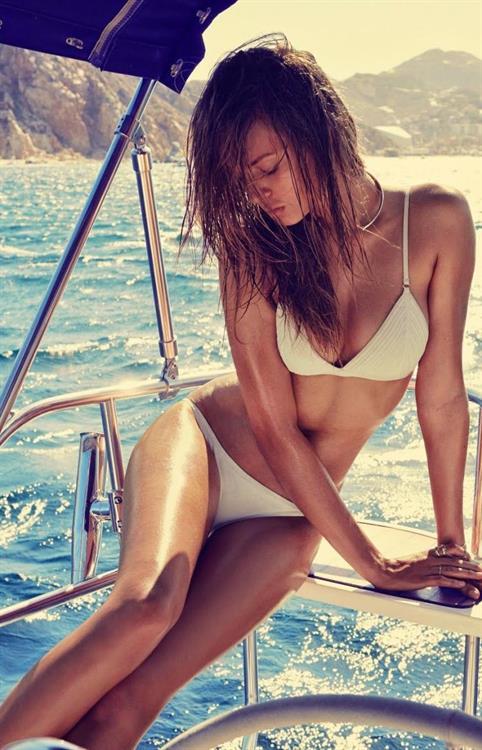 Josephine Skriver in a bikini