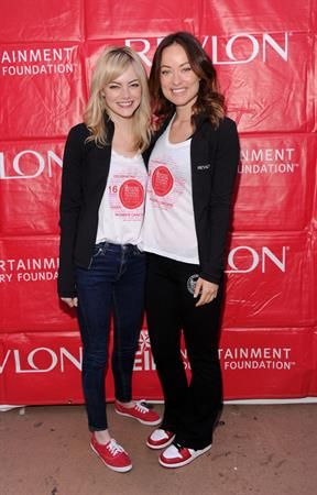 Olivia Wilde Revlon Run/Walk For Women in New York City - May 4, 2013