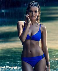 Michea Crawford in a bikini