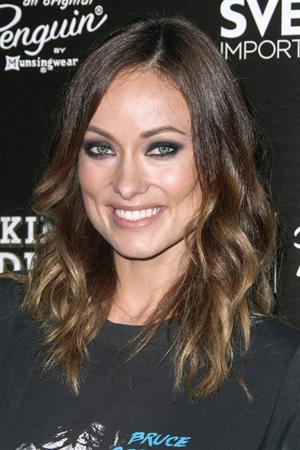 Olivia Wilde attends the  Drinking Buddies  Screening at Arclight Cinemas in Hollywood - August 15, 2013