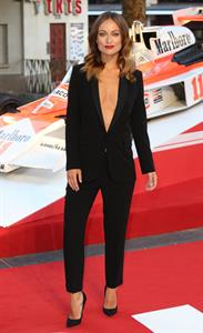 Olivia Wilde attending the  Rush  World Premiere on September 2, 2013