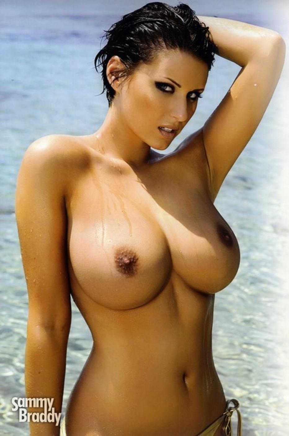 Sammy Braddy - breasts