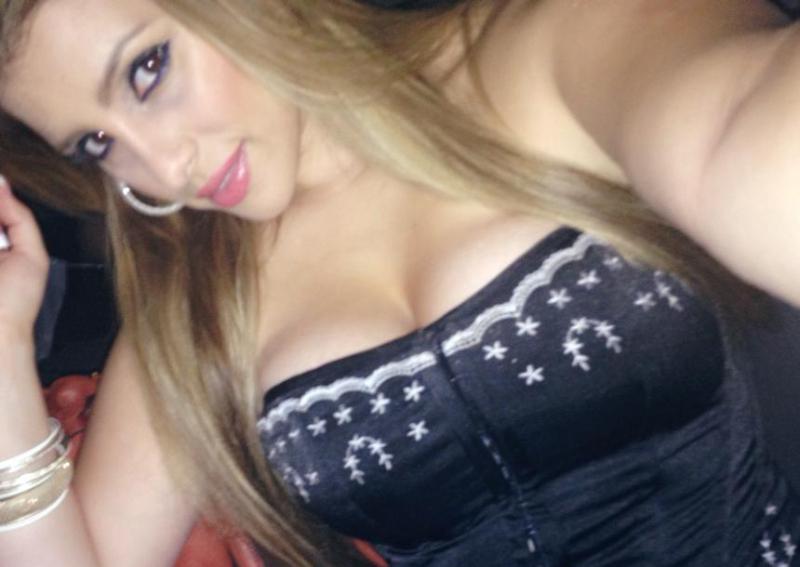 Bridget Olinda Garcia taking a selfie