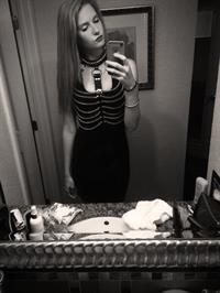 Ashley Lane taking a selfie