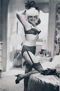 Jayne Mansfield in lingerie