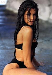 Stephanie Seymour in a bikini