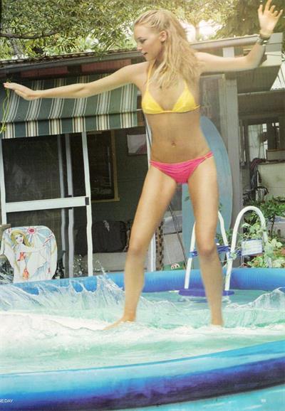 Gemma Ward in a bikini