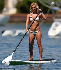 Aliona Vilani in a bikini