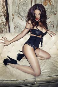 Lacey Banghard in lingerie