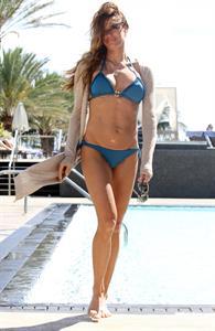 Kelly Bensimon in a bikini