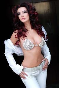 Bleona Qereti in a bikini