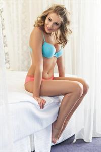 Raluca Mos in lingerie