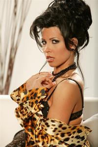 Rebeca Linares in lingerie