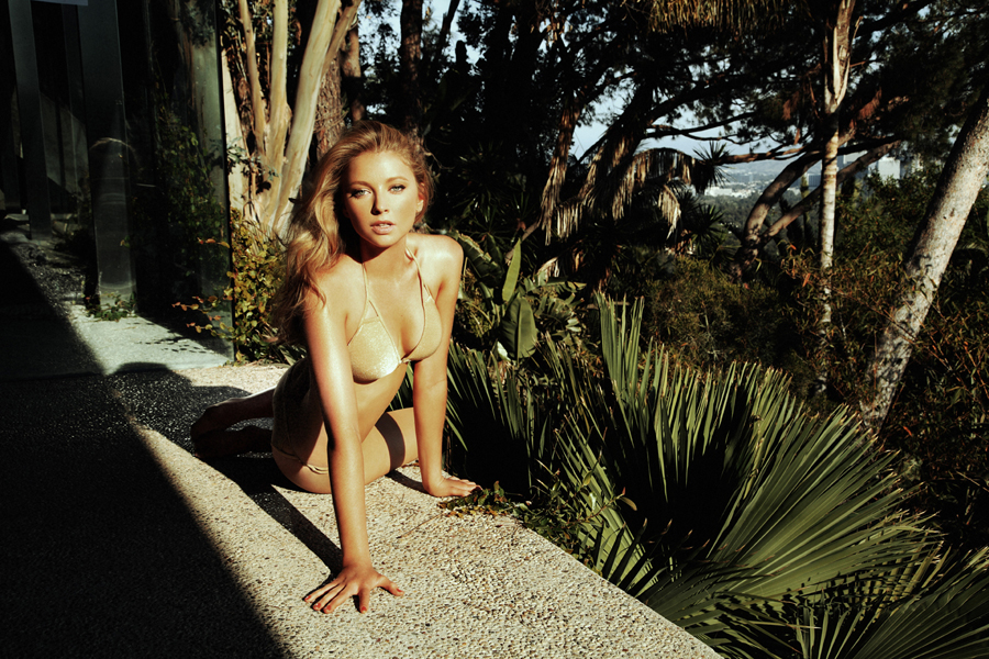 Elisabeth Harnois in a bikini
