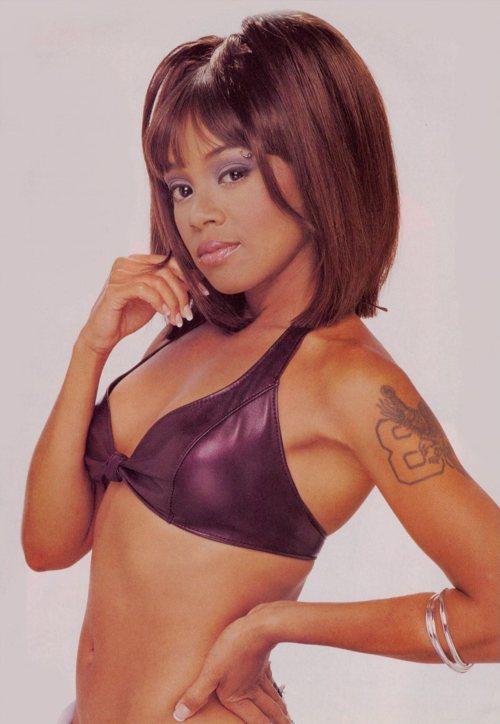 Lisa Lopes in a bikini