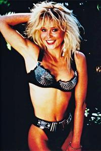 Linnea Quigley in a bikini