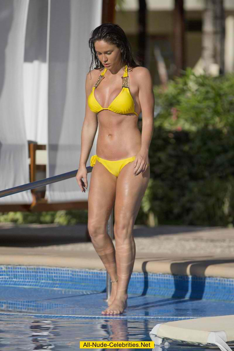 Vicky Pattison in a bikini