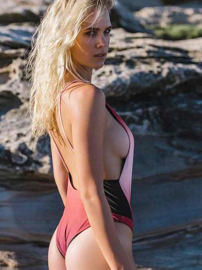 Holly Graves in a bikini - ass